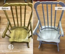 Baby Rocking Chair Refinishing Painting ...