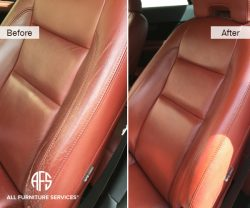 Car Auto Seat leather Vinyl Wear Tear Re...