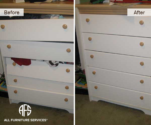 Dresser Drawers Repaired