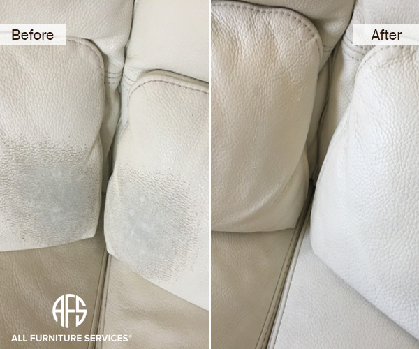 how to fix flaking leather