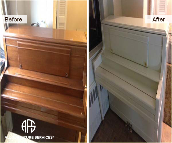 Superieur PIANO Refinishing Color Change