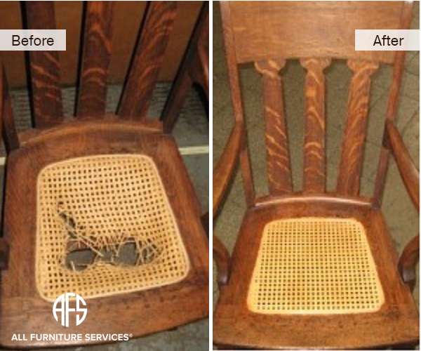 Elegant Wicker Restoration. Spring Repair
