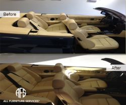 auto BMW full interior Leather Restorati...