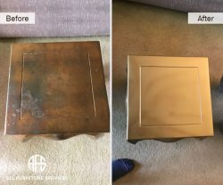 Gold Brass Silver Leaf Patina Distress Restoration refinishing painting cleaning