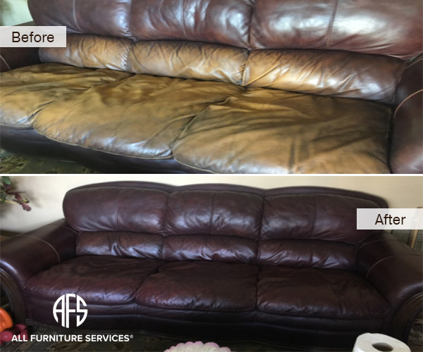 Leather Restoration Color Repair Matchin