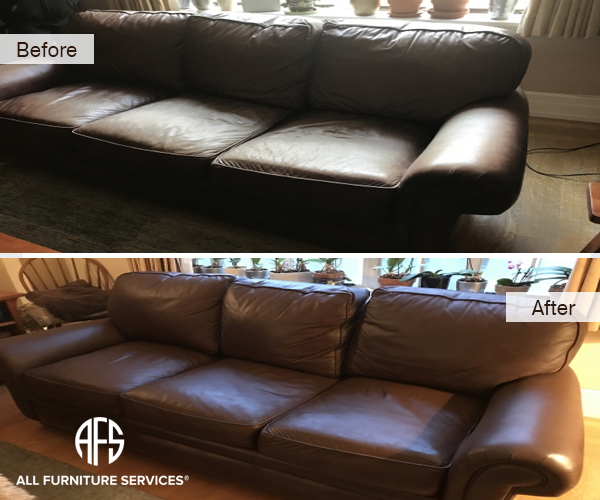 Gallery before after pictures all furniture services for Cleaning living room furniture