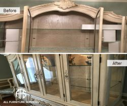 Broken cracked glass shelf replacement cut supply install tempered beveld top