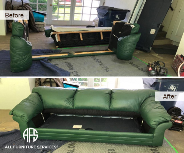 Furniture Leather Sofa Bed Couch Disembly Embly Take Apart Break Down Do Not Fit Moving