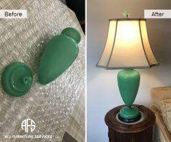 Glass ceramic stone cracked broken in half art antique piece repair restoration glue