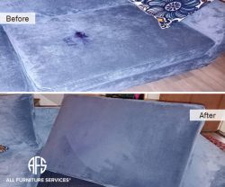 Microfiber upholstery fabric furniture cleaning ink mark removal extraction steam and s code cleaning