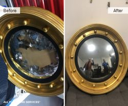 Mirror Restoration Silvering coating bow glass fix