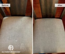 chair seat furniture cleaning stain removal
