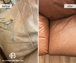 Leather Tear Furniture Vehicle Car Boat Plane Partial or Complete Re-upholstery change color match blend dye paint seat