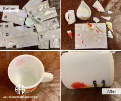 glass plexi acrylic ceramic lucite