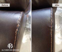 furniture arm back cushion decorative stitch seam repair reproducing fixing sofa chair