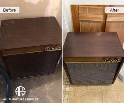 antique refinishing restoring top