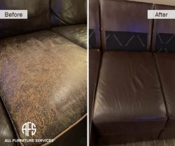 leather dyeing restoring finishing painting