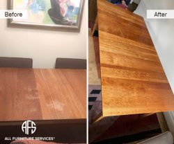 table top furniture refinishing lacquer poly clear finish
