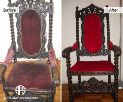 Antique-Chair-Reupholstery