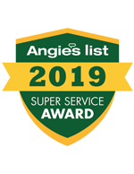 Angie's Super Best Service Award 2019