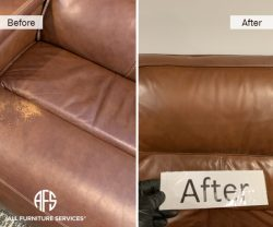 Furniture Chair Color change dyeing painting restoring wear and tear