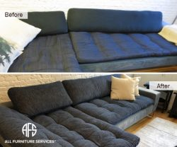 Re-Upholstery NYC Furniture change fabric tufting New Jersey Cushion Casing leather vinyl Fix chair couch sofa
