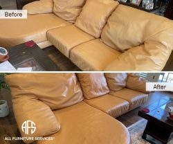 furniture leather color change enhancing cleaning matching dyeing improving renewing maintenance full redye sectional chaise recliner sofabed sleeper