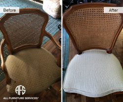 cane chair upholstery caning repair and restoration furniture NY NJ CT FL
